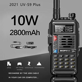 2021 BaoFeng UV-S9Plus Powerful Walkie Talkie  Radio  8w/10w 10km Long Range