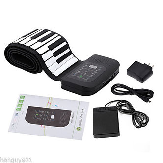 Piano Silicon 88 Keys (PA88) Soft Key Electronic Organ Children Students Music
