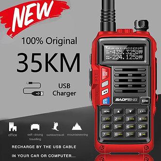 2021 BaoFeng UV-S9 Plus 10W Portable Walkie Talkie 20km Long Range Ham Radio