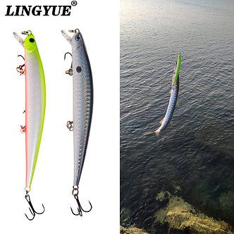 1pcs Fishing Lures 12.5cm/12g Minnow Lure Rattling High Quality Hard Bait