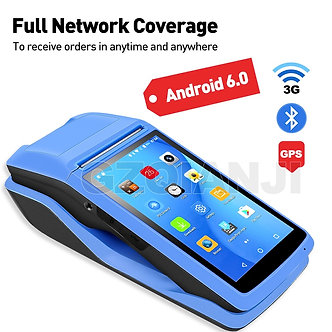 Android PDA NFC POS Receipt Bill Thermal Wifi Bluetooth Mobile Printer 58mm