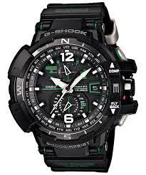 Casio G-Shock GWA1100-1A3 G-Aviation Solar Watch