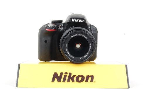Nikon D3300 24.2MP Digital SLR Camera Kit w/ AF-S DX VR II 18-55mm Lens #58493