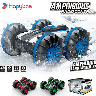 360 Rotate Rc Cars Remote Control Stunt Car 2 Sides Waterproof Driving