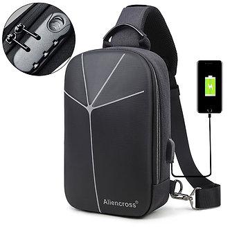 2020 New Multifunction Crossbody Bag for Men Anti-Theft Shoulder Messenger Bags
