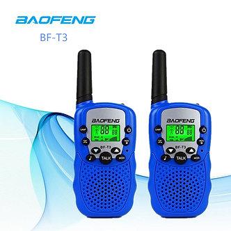 2PCS Baofeng BF-T3 Walkie Talkie Best Gift for Kids  Children Radio Mini