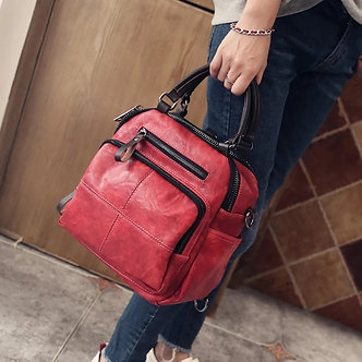 Autumn New Style Women Real Split Suede Leather Shoulder Bag Casual Handbags