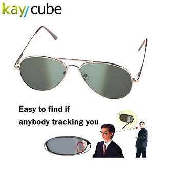 Anti UV Anti-Tracking Sunglasses Anti-Track Monitor Sunglasses Rearview