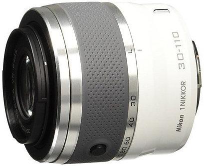 Nikon 1 Nikkor VR 30_110mm f/3.8-5.6 VR Camera Lens - White (3378)