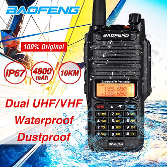 2020 10W Baofeng UV-9R Plus Waterproof Walkie Talkie UV 9R Plus Dual Band