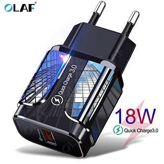 18W Quick Charge 3.0 USB Charger QC 3.0 4.0 USB Plug Phone/Fast Charger Adapter