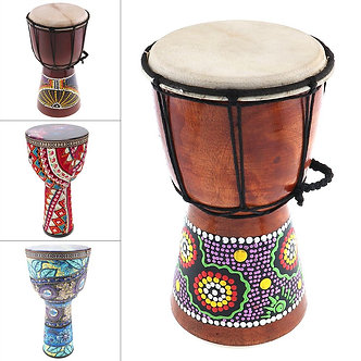 4 Inch / 6 Inch / 8  Inch  High Quality Professional African Djembe Drum Wood