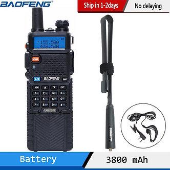Baofeng UV-5R 3800 Walkie Talkie 5Watts Dual Band UHF 400-520MHz VHF 136-174MHz
