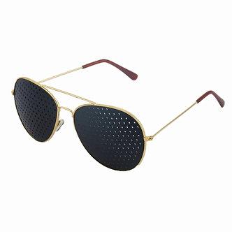 1pcs Anti-Myopia Pin Hole Glasses Pinhole Sunglasses Eye Exercise Eyesight