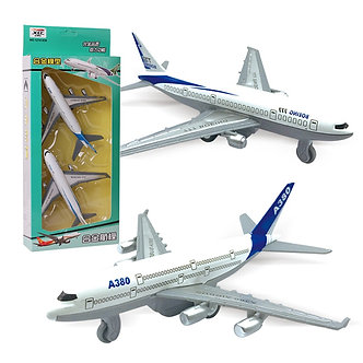 2pcs/Set Kids Glider Airliner Aircrafts Toy Mini Alloy Pull Back Camouflage