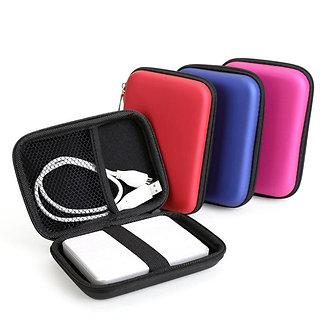 "2.5"" Portable Hard Disk Bag Case Zipper for External Hard Drive Disk/Electronics"