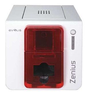 EVOLIS ZN1H0000RS Evolis Card Printer, Single-Sided