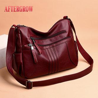 2019 Women Shoulder Bag Luxury Soft Leather Large Bag Female Messenger Bags