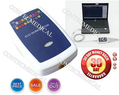 Brand NEW CONTEC8000 PC based 12 lead Resting PC-ECG/EKG Workstation