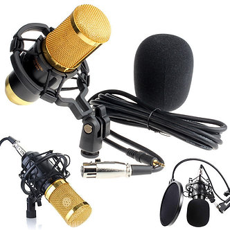 Condenser Pro Audio BM800 Microphone Sound Studio Dynamic Mic +Shock Mount