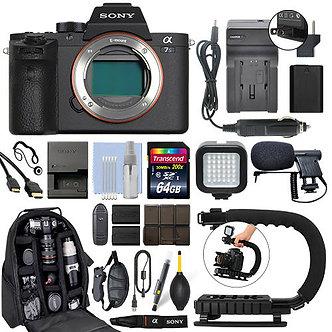 Sony Alpha a7S II Mirrorless 12.2MP 4K Digital Camera Body + 64GB Pro Video Kit