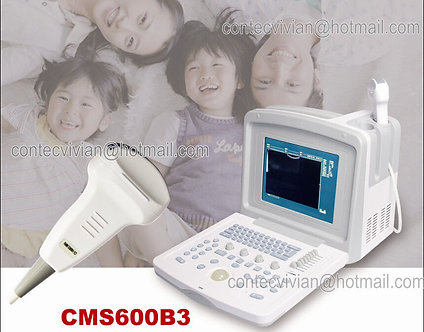 CE CMS600B-3 Portable Digital Ultrasound Scanner Machine 3.5MHZ Convex Video+USB
