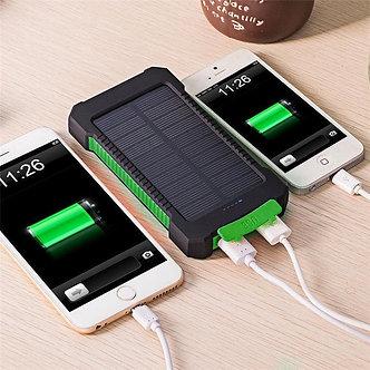 Solar Power Bank 100000mah Portable External Battery Charger For Smart Phone GA