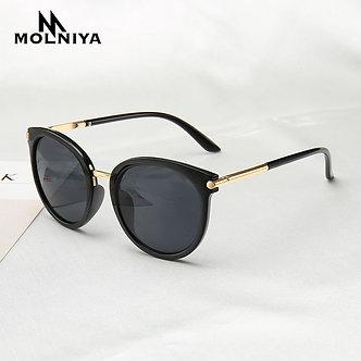 2020 New Sunglasses Women Driving Mirrors Vintage for Women Reflective Flat Len