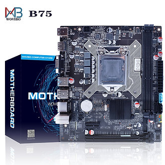 B75 Motherboard LGA 1155 DDR3 Memory SATA III USB 3.0 for Intel LGA1155 Core I7