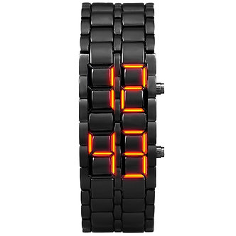 Aidis Youth Sports Watches Waterproof Electronic Second Generation Binary LED
