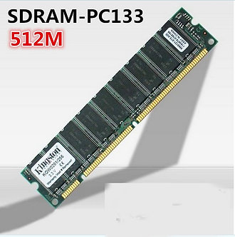 512MB PC133 133MHz SDRAM 168pin DIMM Desktop Memory Non-Ecc Low Density