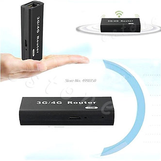 3g/4g WiFi W Mini Portable Lan Hotspot AP Client 150Mbps USB Wireless Router