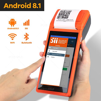 Android Wifi POS PDA Terminal 1D Barcode Scanner Reader Printer 58mm Thermal