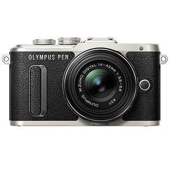 NEW Olympus Pen 16.1MP Digital Camera 3x Optical Zoom - Black (E-PL8)