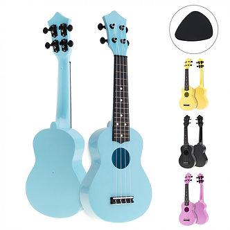 21 Inch Colorful Acoustic Ukulele Uke 4 Strings Hawaii Guitar Guitarra Musica