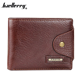 2018 New Brand High Quality Short Men's Wallet ,Genuine Leather Qualitty