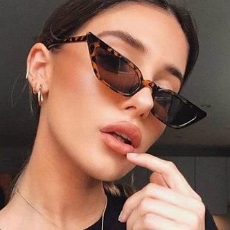 2020 New Women Cateye Vintage Red Sunglasses Brand Designer Retro Points Sun