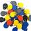 Thumbnail: 50pcs 13.56MHz Rewriteable 0 Block UID Tag RFID UID Keyfobs Rewrite Copier