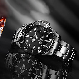 2020 Tevise Top Brand Men Mechanical Watch Automatic Date Fashion Wristwatche