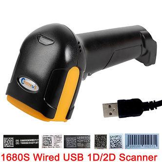 1D&2D  Supermarket Handhel  Barcode Bar  Code Scanner  Reader QR   PDF417
