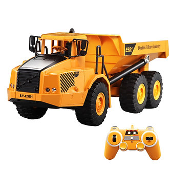 2.4G RC Articulated Dump Truck Electronic Engineering Vehicle Construction RC