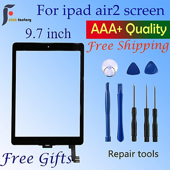 A1566 A1567 Touch Screen Digitizer Glass Lens Sensor 9.7'' Inch for Ipad Air2