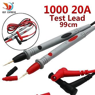A Set  Digital Multimeter Universal 1000V 20A Test Lead Probe Cable SMD SMT