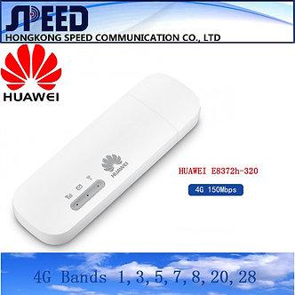 2021 New Arrival Unlocked Huawei E8372h-320 4G USB WiFi Dongle E8372 Modem