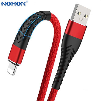 1m 2m 3m USB Cable for iPhone 12 11 Pro Max X 5 6 S 6S 7 8 Plus iPad Fast Charge