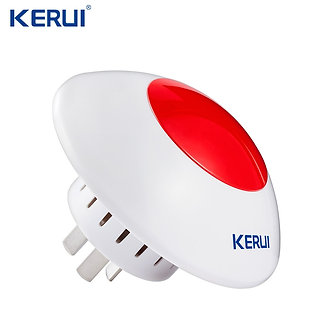 433 MHz Wireless Flash Siren  Alarm Siren Horn Red Light Strobe Siren for Home