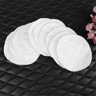 10pcs Absorbent Nursing Pads Washable Reusable Cotton Pads Breastfeeding Liners