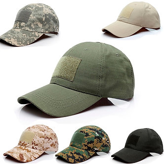 Adjustable Baseball Cap Tactical Summer Sunscreen Hat Camouflage Military Army