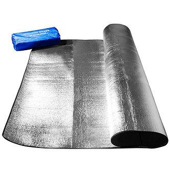 2020 New Waterproof Aluminum Foil EVA Camping Mat Foldable Sleeping Picnic Beach