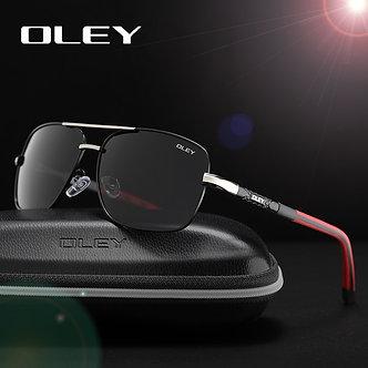 OLEY Brand Polarized Sunglasses Men New Fashion Eyes Protect Sun Glasses